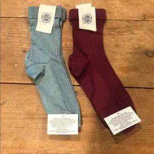 Free People socks bundle NWT